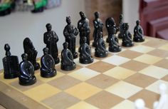 Vintage original chess set from Soviet von SovietGallery auf Etsy