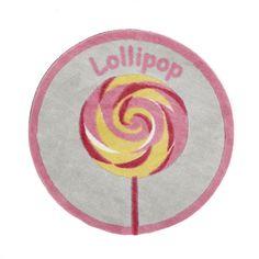 Tapis D60cm motifs sucette Rose - Bonbon - La sélection Printemps-Eté 2014 - Promos - Alinéa #AlineaPE2014