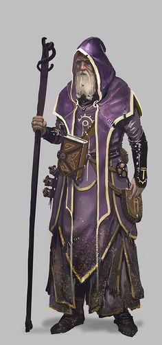As bruxas e os feiticeiros sempre vestiam uma túnica nesse tom, diziam que era a cor mais intima do arco-iris, que marca a fronteira do visível e do invisível.