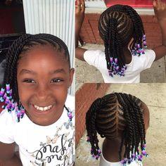 "421 Likes, 14 Comments - Stasha M Harris (@magicfingersstudio) on Instagram: ""Adorable smile #kidsbraids #braids #2129209956 #cornrowstyles #cornrows #cornbraids #braids…"""