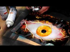 amazing spray painting in croft car boot sell - YouTube