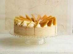 Caramel Cream Layer Cake ***