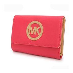 Cheap Michael Kors Fashion Logo Large Pink Wallets, Perfect You