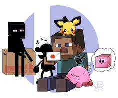 Super Smash Bros Memes, Nintendo Super Smash Bros, Super Mario Bros, Video Games Funny, Funny Games, Super Smash Ultimate, Yoshi, Super Cool Stuff, Pokemon