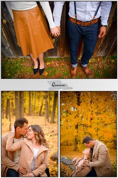 Toronto wedding - engagement photo session by Quarum. The fall engagement season has come to an end and winter is now around the corner. Here are a few pics from Melisa + Daniel's Toronto engagement shoot. The perfect day with just the right amount of leaves make a perfect recipe for a great photo shoot. Stay tuned for more posts next week.