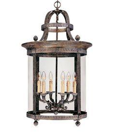 Farmhouse Lantern Hanging light fixtures Lights and Iron