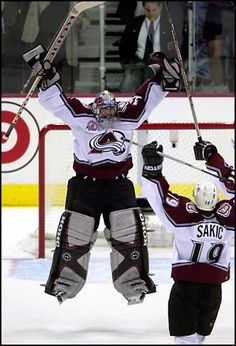 Patrick Roy.  Perhaps the greatest goalie ever (in my mind at least).