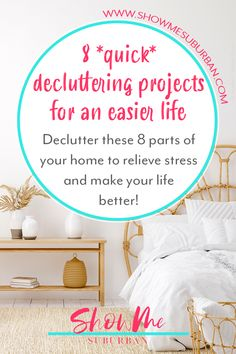 Little pockets of clutter in my house were stressing me out and making my life harder. These quick and easy decluttering projects helped make my life at home easier and less stressful. I decluttered important parts of my home that were making me waste time and energy. I'm so glad I decluttered! Clean Refrigerator, Trash Day, Bathroom Cleaning Hacks, Declutter Your Home, Food Storage Containers, Life Organization, Decluttering, How To Relieve Stress, Home Projects