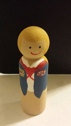 American Heritage Girl peg doll AHG Explorer