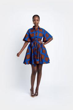 African Shirt Dress, African Print Shirt, Short African Dresses, African Print Dresses, African Fashion Ankara, Latest African Fashion Dresses, African Print Fashion, African Attire, African Wear