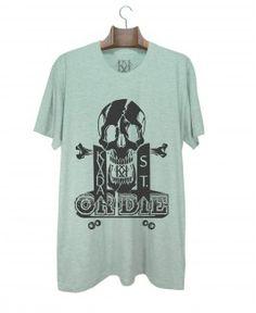 Camiseta Kvada or Die Cinza