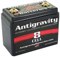 Amazon.com: Antigravity Batteries AG-801 Lithium-Ion Powersports Battery, Small Case, One Size, Black: Automotive Motorcycle Battery, Custom Sport Bikes, Bike Builder, Biker Clubs, Custom Builders, Small Case, Voltage Regulator, Motorcycle Parts And Accessories, Day Use