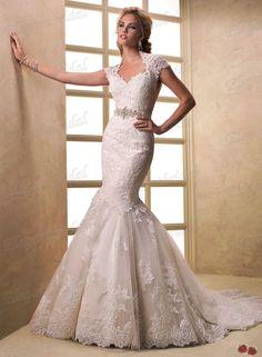 FSM0239 EF1604 Vintage Beaded 2013 Designer Spanish Lace Bridal Wedding Dress Mermaid Keyhole Back-in Wedding Dresses from Apparel  Accessories on Aliexpress.com $229.00