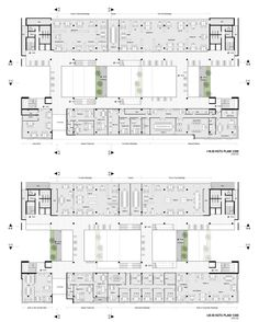 Office Building Plans, Office Building Architecture, University Architecture, Museum Architecture, Architecture Plan, Building Design, School Floor Plan, Office Floor Plan, School Plan