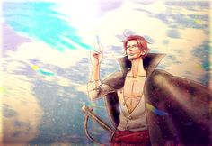 Image shared by Alexis. Find images and videos about one piece and shanks on We Heart It - the app to get lost in what you love. One Piece Series, One Piece World, One Piece Nami, Cartoon Art, Cartoon Characters, Fictional Characters, Red Hair Shanks, Es Der Clown, Hey Bro