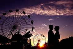 California State Fair Engagement Session, want to go to a fair now!