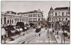Largo São Bento   Imagem é de Guilherme Gaensly. Final da década de 1910, início dos anos 1920.  http://sergiozeiger.tumblr.com/post/102980422803/o-grande-hotel-no-domingo-ao-sair-da-imperdivel