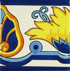 Especial Mexican Tile - Flor De Llama