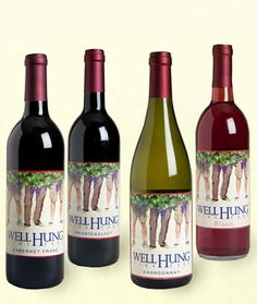 Well Hung Vineyard - Their Motto: Our wines stand up to any occasion!