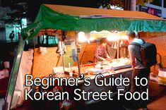 If I ever go to South Korea, i will come home fat! Street food!!