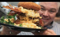 Epic Mac'N'Cheese Burger - Zombie Burger - YouTube