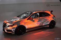 Mercedes-AMG uses Usher to launch its A 45 AMG hot hatch at Geneva Fancy Cars, Cool Cars, Classe A Amg, Mercedes A45 Amg, Bape, Hennessey Venom Gt, M Benz, Maserati, Lamborghini