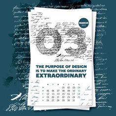 Calendario Graphic ExchangE Marzo