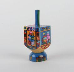 Dreidel by Yair Emanuel, $13.95 at traditionsjewishgifts.com. These dreidels are beautiful