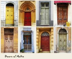 The doors in Malta are amazing. I lived behind one of these one summer.