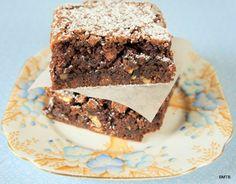 Gluten Free Choc Pecan Brownie