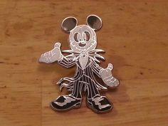 Mickey Mouse as Jack Skellington Disney trading pin