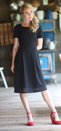 Scarlet Dress (Black) - Pre-order