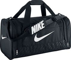Nike Brasilia 6 Duffel Bag BlackWhite Size Medium >>> Read more  at the image link.