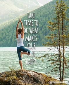 DownDog Inspirations: Take time to do what makes your soul happy… From the Dow. DownDog Inspirations: Take time to do what makes your soul happy… From the Downdog Diary Yoga Blo Kundalini Yoga, Yoga Meditation, Yoga Pilates, Pilates Reformer, Yoga Inspiration, Fitness Inspiration, Esprit Yoga, Usui Reiki, Citations Yoga