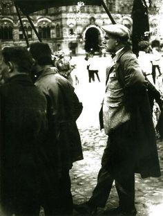 Маяковский на Красной площади