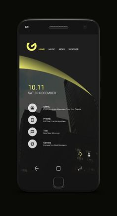 Mobile Ui Design, App Ui Design, Layout Design, Android Theme, Unique Gadgets, Homescreen Wallpaper, Ui Web, Ui Inspiration, Icon Pack