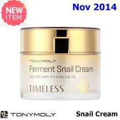 New Nov  2014  US$39.9   [ TonyMoly ] Timeless Ferment Snail Cream 50ml (New 2014), Korean Best Cosmetics, Free Shipping