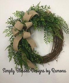DUE to NOT having access to SUPPLIES, greenery used will not be exact. Farmhouse wreath, Everyday wreath, Double door wreaths, all season Double Door Wreaths, Christmas Wreaths For Front Door, Summer Door Wreaths, Fall Wreaths, Easter Wreaths, Ribbon Wreaths, Floral Wreaths, Burlap Wreaths, Prim Christmas