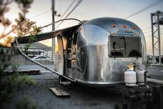 AppleCafe Airstream Globetrotter エアストリーム エアストリームのPhoto エアストリームのカフェ ...