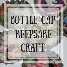 This bottle cap keepsake craft is both easy to make and inexpensive. You can personalize with photos and charms or just use scrapbook paper. Very unique!