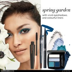 Spring Garden, Avon, Eyeshadow, Cosmetics, Hair, Beauty, Color, Campaign, Canada