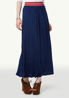 image of Tribal Maxi Skirt