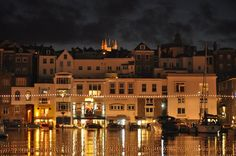 St Peter Port by night x