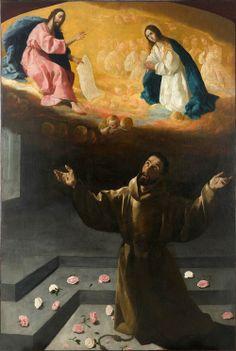 Francisco de Zurbarán, São Francisco e do Milagre das Rosas, 1630