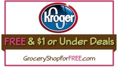 Kroger FREE & Under $1 Deals & Coupon Match-ups For 3/21!