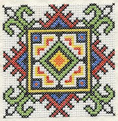 Ensemble de conception ukrainienne Cross Stitch par Genniewren