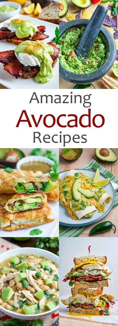Amazing Avocado Recipes from Closet Cooking #avocado