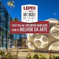 Chegamos a RETA FINAL!! Corra ainda dá tempo de participar da campanha Lepri e Você na Art Basel Miami 2016.  Quem especificar produtos Lepri nas lojas participantes, acumula pontos e pode ganhar uma viagem para a Art Basel em Miami. Considerada uma das mais importantes feiras de arte do mundo. Fique atento ao prazo somente até 31 de outubro e válida para todo Brasil. Para saber a loja mais próxima de você, acesse www.artbasel.com.br ou envie o email para sac@lepri.com.br. Confira também o…