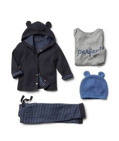 Cozy baby outfit by baby gap
