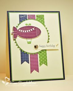 Joyful Creations with Kim: Happy Birthday Blimp